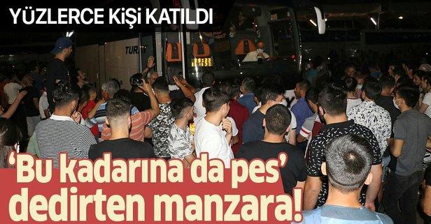 Adana'da bu kadarına da pes dedirten görüntü