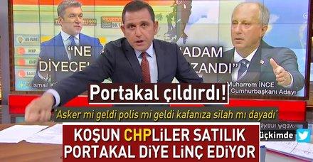 Fatih Portakal kendisini eleştiren muhalif seçmene isyan etti