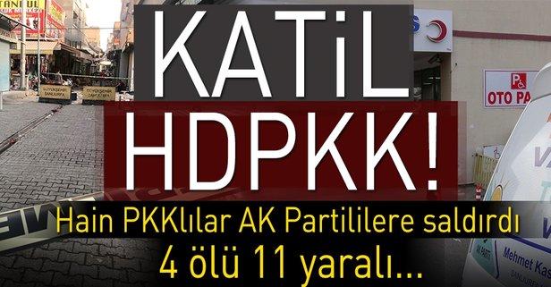 Suruçta AK Partililere saldırı!