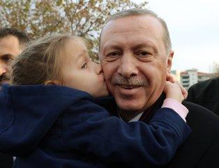 Başkan Erdoğan'a Manisa'da tatlı sürpriz