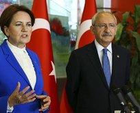 CHP-İyi Parti ittifakında kriz!