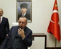 Başkan Erdoğan Türk askerine başarı dileği