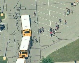 ABDde okula silahlı saldırı!