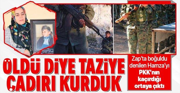 """""""Zap'ta boğuldu"""" dediler PKK kampında çıktı"""