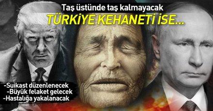 Baba Vanga'nın 2019 kehanetleri korkunç! Türkiye ve Donald Trump...