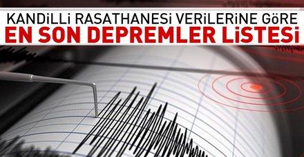 Son dakika: Akdeniz 4,2 ile sallandı! 12 Eylül 2018 Kandilli Rasathanesi son depremler