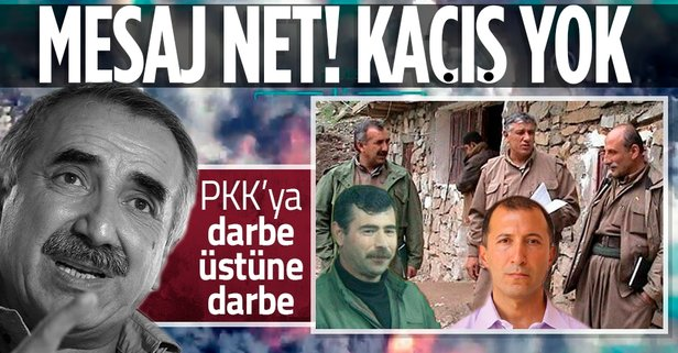 PKK elebaşlarını net mesaj: Kaçışınız yok