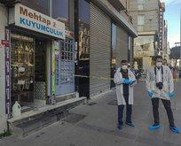 İstanbul'un göbeğinde gündüz vakti kuyumcu soygunu