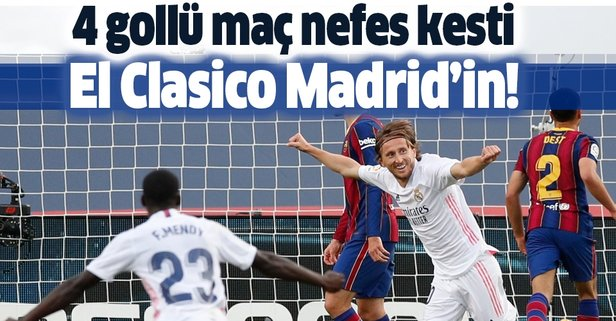 El Clasico'da kazanan Madrid!