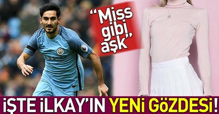 İlkay Gündoğanın yeni sevgilisi Miss Liverpool güzeli
