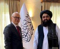 Kabil Büyükelçisi'nden Taliban teması