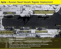 Rus savaş gemileri üsleri terk etti! Açık denizde savaş konumu aldı...