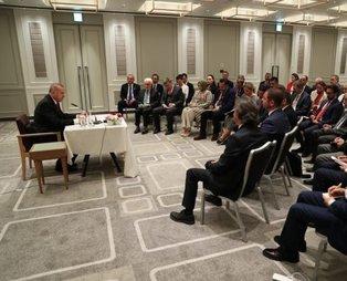 Başkan Erdoğan'dan 'Yüzyılın Planı' açıklaması