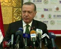 Erdoğan'dan sömürgecilere tarihi yanıt