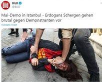 Alman gazeteden iki yüzlülük! Türk polisi hakkında algı