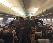 Bağdat uçağı Ankara'da! Tüm yolcular karantinada