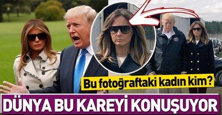 Melania Trump dublör mü kullanıyor? Dünya bu kareyi konuşuyor!
