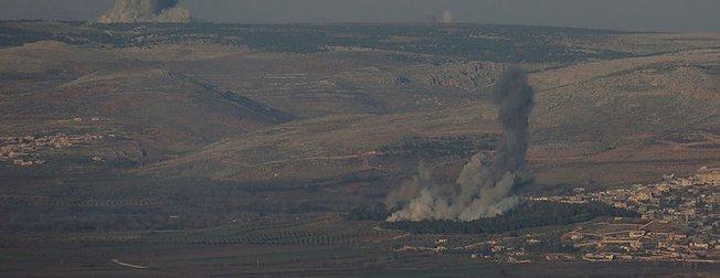 TSK, Afrin'deki PYD/PKK mevzilerini vurdu!