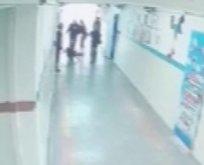 Eskişehir'de skandal! Öğrenciyi yerden yere vurdu