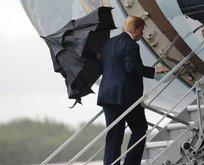 Sosyal medya Trump ve şemsiyesini konuştu!