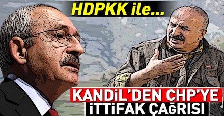 Terör örgütü PKK'dan CHP'ye ittifak mesajı