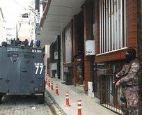 İstanbulda helikopter destekli şafak operasyonu