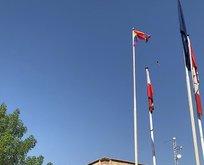 AB'nin Irak Büyükelçiliğine LGBT bayrağı çekildi!