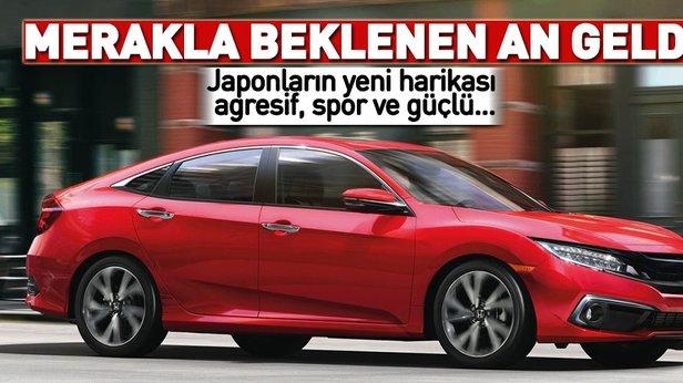 2019 Honda Civic Sedan Ve Copue Tanıtıldı Yeni Honda Civic Sedan