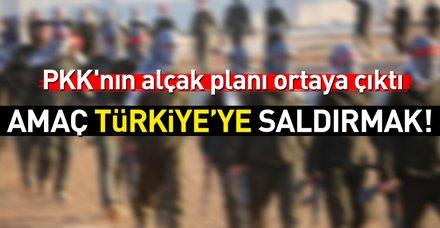 Terör örgütü PKK'nın alçak planı ortaya çıktı!