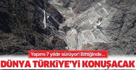 Yapımı 7 yıldır sürüyor! Bittiğinde dünya Türkiye'yi konuşacak