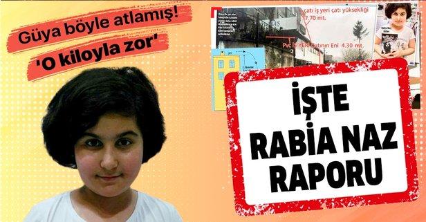 İşte Rabia Naz raporu