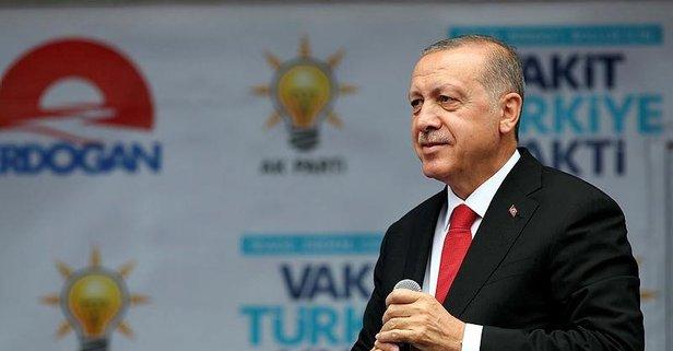Öğrencilere müjdeyi Erdoğan verdi