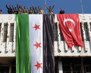 Rasulayn'a Türk bayrağı çekildi