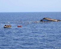 Libya'da tekne faciası: 90 ölü
