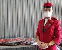 THY uçaklarında hijyen ekibi görevde!