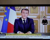 Macron'a sert tepki: Tahrikkar ve tehlikeli!