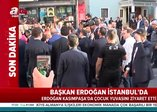 Son dakika: Başkan Erdoğan çocuk yuvasını ziyaret etti