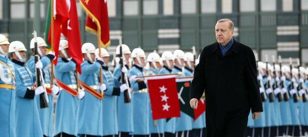 Cumhurbaşkanı Erdoğana Obama protokolü