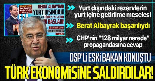 Türker: Türk ekonomisine saldırı oldu