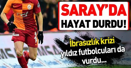 Galatasaray'da yaşanan ibrasızlık depremi tüm planları bozdu