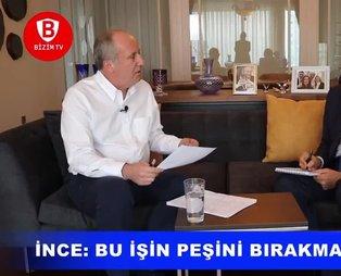 CHP'li İnce, Kılıçdaroğlu'nu kumpas kurmakla suçladı!