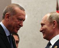 Putin'den Erdoğan'a doğum günü telefonu