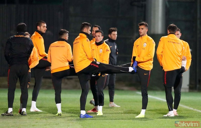 Galatasaray'ın Çaykur Rizespor 11'i