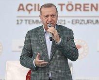 Başkan Erdoğan'dan toplu açılış töreninde önemli açıklamalar