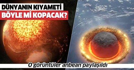 NASA anbean gösterdi! Dünya'nın kıyameti böyle mi olacak?