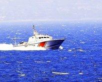 Yunan botu kaçacak delik aradı