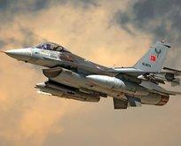 Irak'a hava harekatı! Terör merkezleri imha edildi