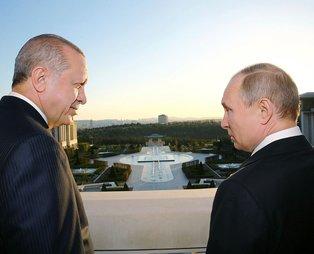 Son dakika! Başkan Erdoğan Rusya Devlet Başkanı Vladimir Putin ile görüştü
