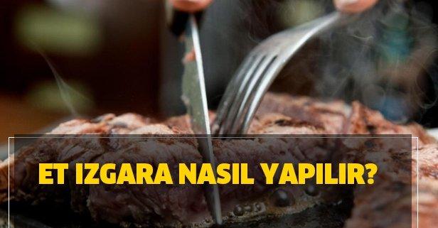 Et ızgara nasıl yapılır? Kurban etini ızgara yaparken nelere dikkat edilmeli?