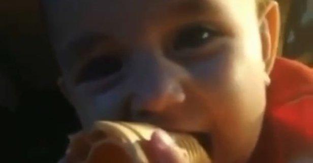 Bebeğini dondurma sırasında unutmazsın be